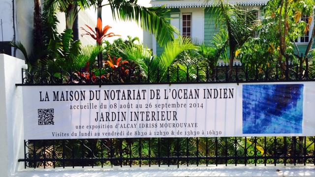 Affiche Jardin Intérieur